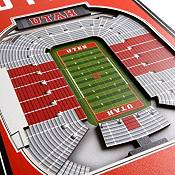 """You The Fan Utah Utes 8""""x32"""" 3-D Banner product image"""