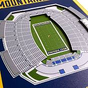 """You The Fan West Virginia Mountaineers 8""""x32"""" 3-D Banner product image"""