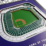 You The Fan Colorado Rockies 8''x32'' 3-D Banner product image