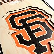 You The Fan San Francisco Giants 8''x32'' 3-D Banner product image