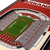"You The Fan Arkansas Razorbacks 6""x19"" 3-D Banner product image"