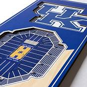 """You The Fan Kentucky Wildcats 6""""x19"""" 3-D Banner product image"""