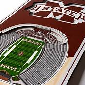 """You The Fan Mississippi State Bulldogs 6""""x19"""" 3-D Banner product image"""