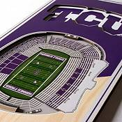 """You The Fan TCU Horned Frogs 6""""x19"""" 3-D Banner product image"""