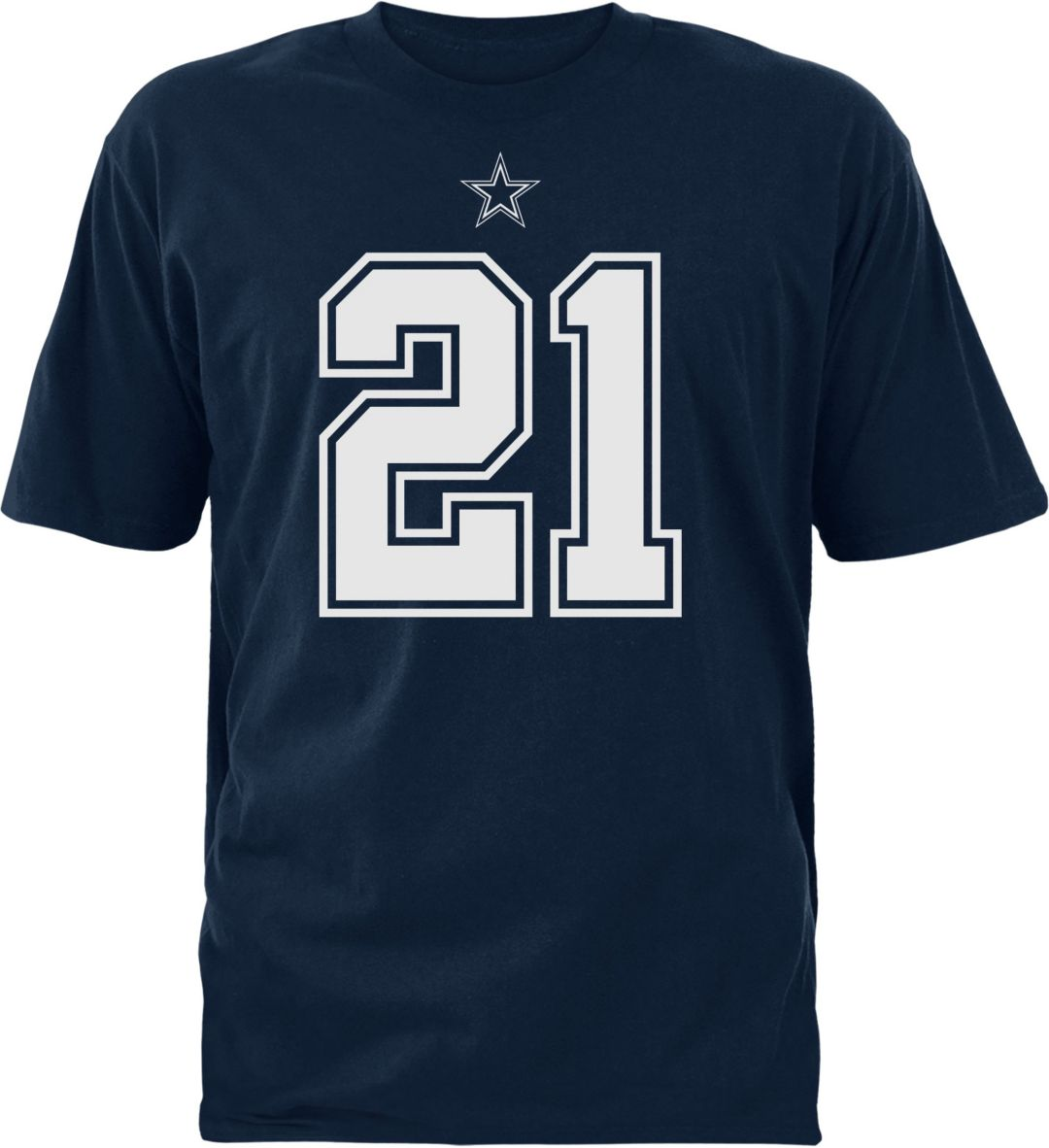 online retailer 17171 06af2 Dallas Cowboys Merchandising Youth Ezekiel Elliott #21 Pride Navy T-Shirt