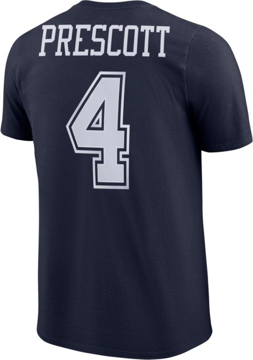 a30087914cb Nike Men's Dallas Cowboys Dak Prescott #4 Pride Navy T-Shirt. noImageFound.  Previous. 1. 2. 3