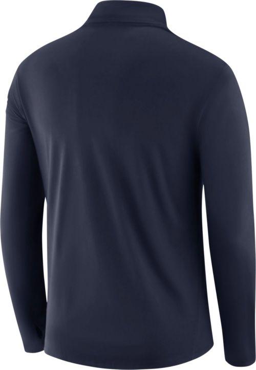 2cc2c5f3123 Nike Men's Dallas Cowboys Core Performance Navy Half-Zip Pullover Top