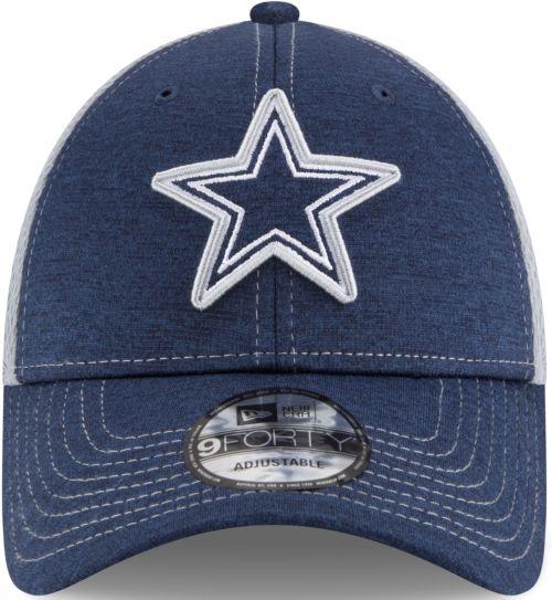 923e3fecd11 New Era Men s Dallas Cowboys Surge 9Forty Navy Adjustable Hat ...