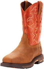 Ariat Men's Workhog Steel Toe Western Work Boots product image