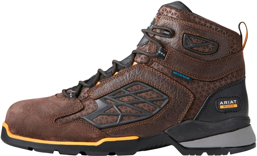 e8ab763be05 Ariat Men's Rebar Flex 6'' H2O Waterproof Composite Toe Work Boots