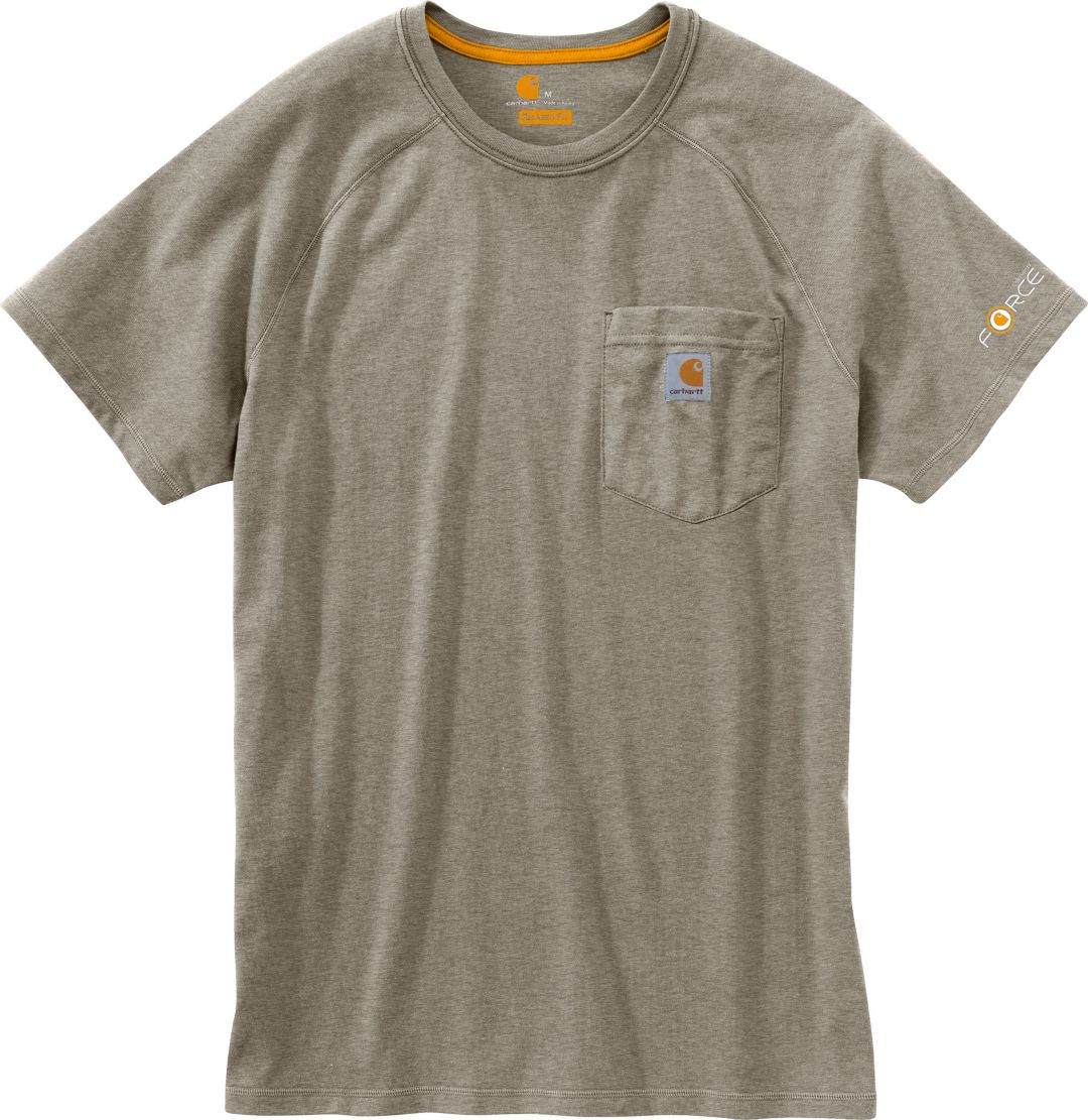 c4a04909c Carhartt Men's Force Cotton Delmont Short Sleeve T-Shirt