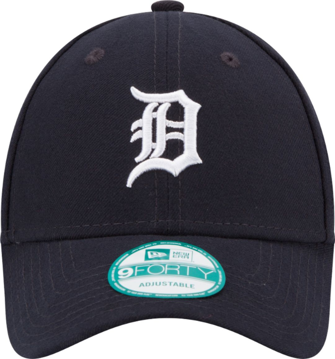 new concept cf6d7 d78cc New Era Men s Detroit Tigers 9Forty League Navy Adjustable Hat
