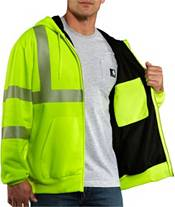 Carhartt Men's High Visibility Class 3 Thermal Zip Up Hoodie (Regular and Big & Tall) product image