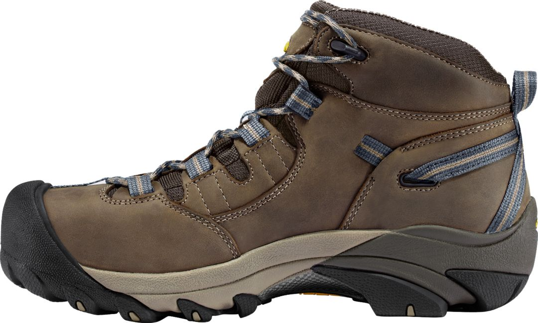 9cb39507912 KEEN Men's Detroit Mid Waterproof Steel Toe Work Boots