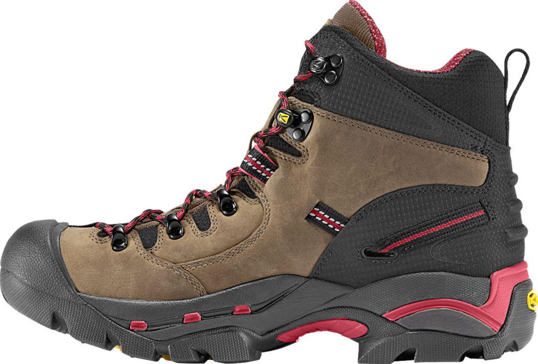 0d79eccfcca KEEN Men's Pittsburgh 6'' Waterproof Steel Toe Work Boots