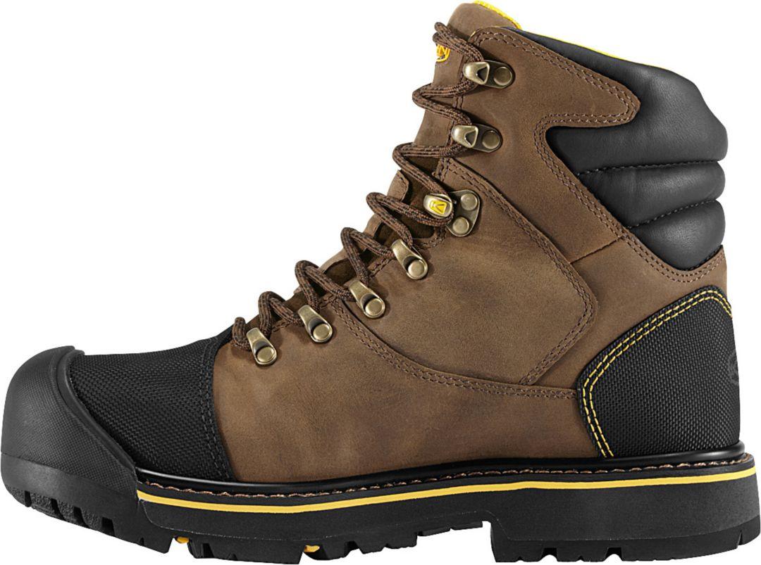 4595f943a74 KEEN Men's Milwaukee Waterproof Steel Toe Work Boots