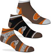 For Bare Feet Cleveland Browns 3-Pack Socks product image