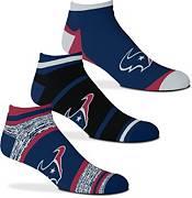 For Bare Feet Houston Texans 3-Pack Socks product image