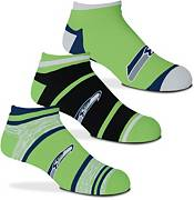 For Bare Feet Seattle Seahawks 3-Pack Socks product image