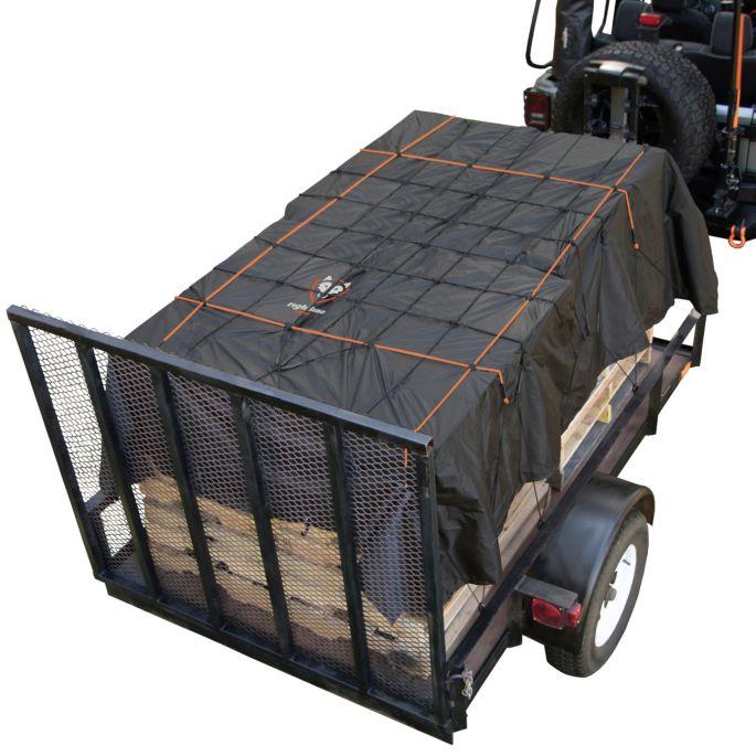 Truck Bed Cargo Net >> Rightline Gear Truck Bed Cargo Net With Built In Tarp