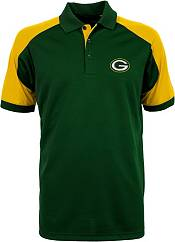 Antigua Men's Green Bay Packers Century Green Polo product image
