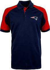 Antigua Men's New England Patriots Century Navy Polo product image