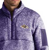 Antigua Men's Baltimore Ravens Fortune Purple Pullover Jacket product image
