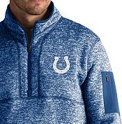 Antigua Men's Indianapolis Colts Fortune Blue Pullover Jacket product image