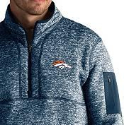 Antigua Men's Denver Broncos Fortune Navy Pullover Jacket product image