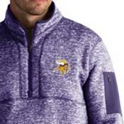 Antigua Men's Minnesota Vikings Fortune Purple Pullover Jacket product image