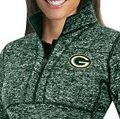 Antigua Women's Green Bay Packers Fortune Green Pullover Jacket product image