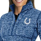 Antigua Women's Indianapolis Colts Fortune Blue Pullover Jacket product image