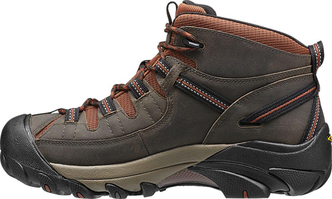 df63e038841 KEEN Men's Targhee II Mid Waterproof Hiking Boots