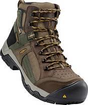 KEEN Men's Davenport Mid AL Waterproof Composite Toe Work Boots product image
