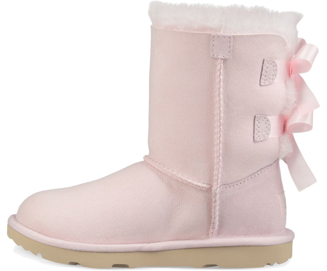 b7be22f336d UGG Kid's Bailey Bow II Sheepskin Boots