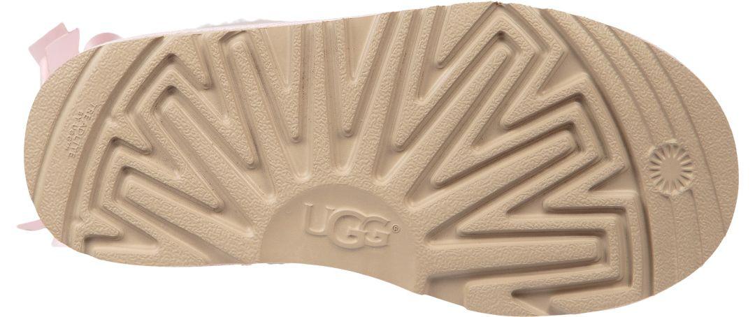 cf3cd157643 UGG Kid's Bailey Bow II Sheepskin Boots