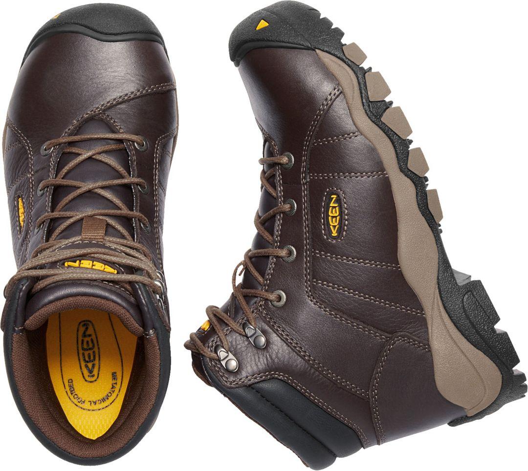 a12a3de3f8a KEEN Women's Santa Fe 6'' ESD Aluminum Toe Work Boots