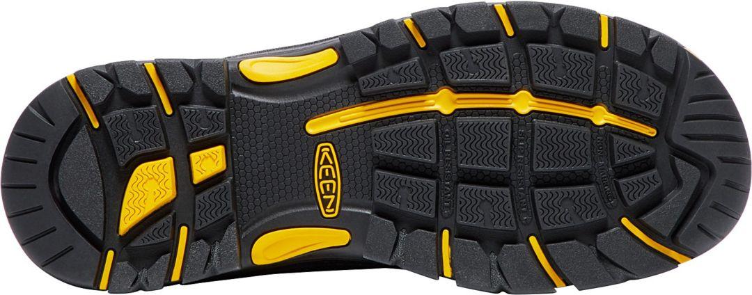 e6fbea7e7ff KEEN Men's Logandale Waterproof Steel Toe Work Boots