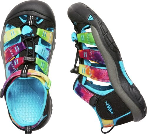b48b1334926e KEEN Kids  Newport H2 Tie Dye Sandals