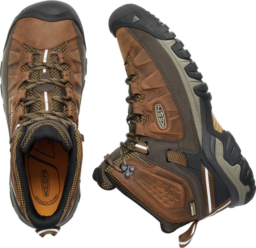 1df3cd7180436 KEEN Men's Targhee III Mid Waterproof Hiking Boots