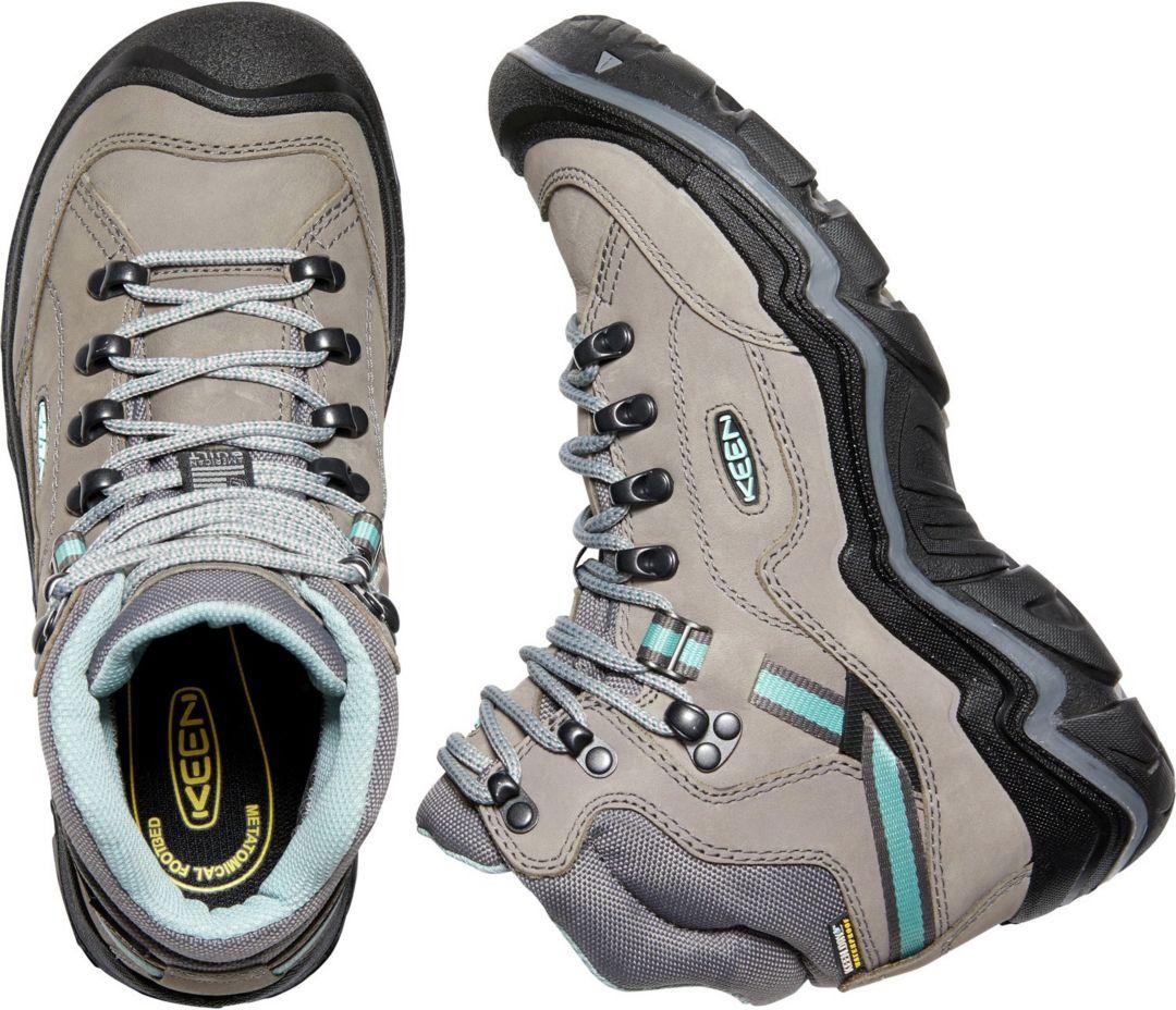 dd3782cf984 KEEN Women's Durand II Mid Waterproof Hiking Boots
