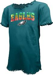 New Era Youth Girls' Philadelphia Eagles Green Flip Sequins T-Shirt product image