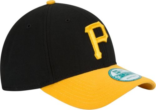 separation shoes 6a9a8 ca5ee New Era Men s Pittsburgh Pirates 9Forty Black Adjustable Hat. noImageFound.  Previous. 1. 2. 3