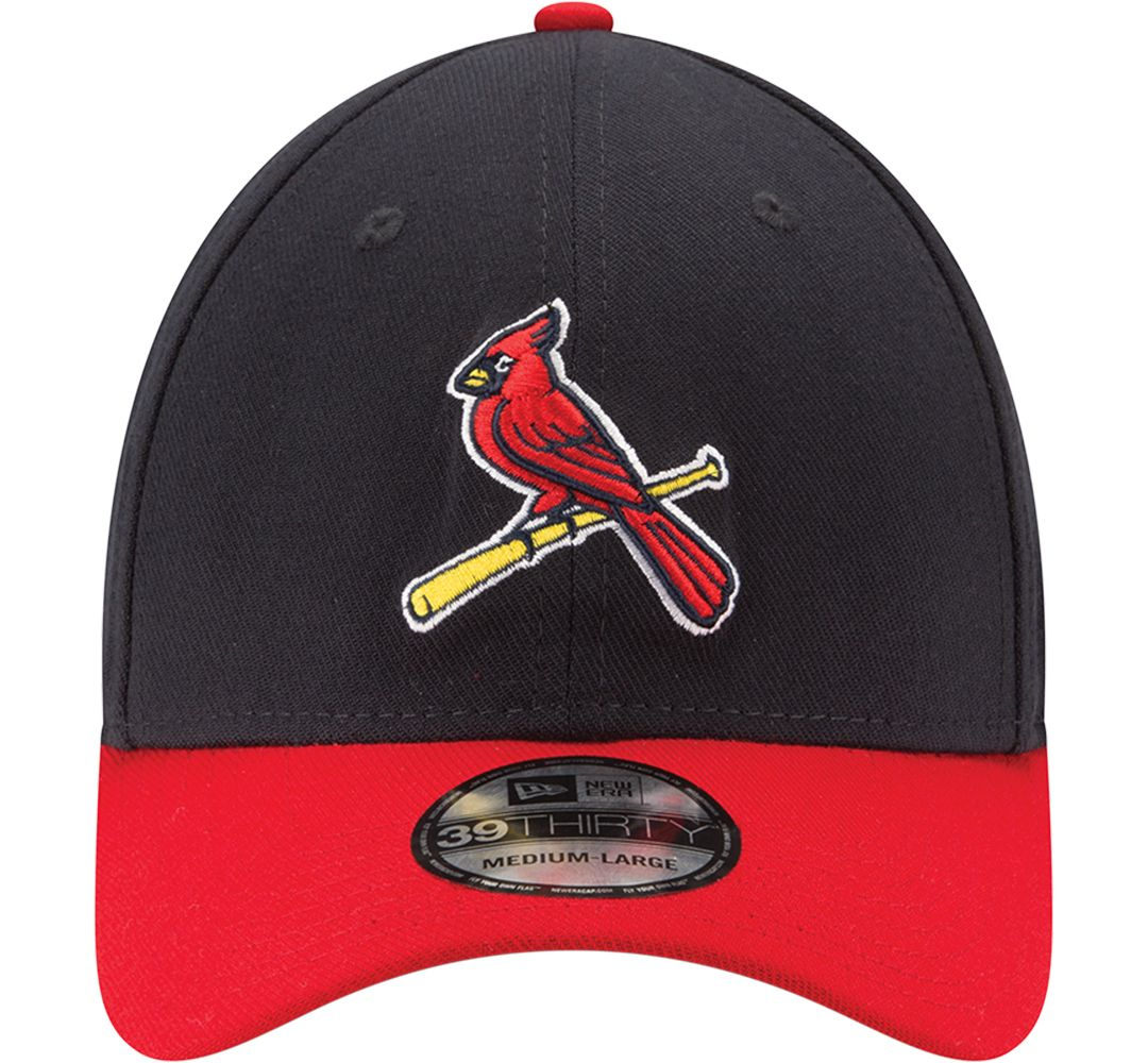 best cheap 06b8f 6b85a New Era Men s St. Louis Cardinals 39Thirty Alternate Classic Navy Stretch  Fit Hat