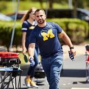Nike Men's Michigan Wolverines Blue Logo Dry Legend T-Shirt product image