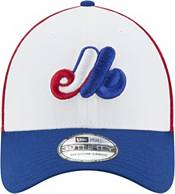 New Era Men's Montreal Expos 39Thirty Red/White/Blue Team Classic Stretch Fit Hat product image
