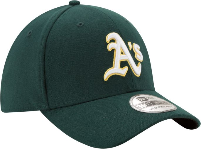 preview of wholesale online meet New Era Men's Oakland Athletics 39Thirty Classic Green Stretch Fit ...