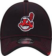 New Era Men's Cleveland Indians 39Thirty Navy Neo Stretch Fit Hat product image