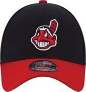 New Era Youth Cleveland Indians 39Thirty Classic Navy Stretch Fit Hat product image