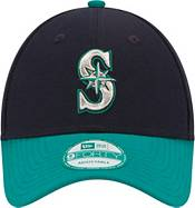New Era Men's Seattle Mariners 9Forty Navy/Teal Adjustable Hat product image